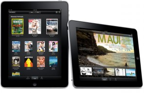 iPad (Zinio Reader)