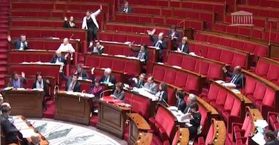 assemblée pour le vote sur les amendements concernant la cigarette électronique